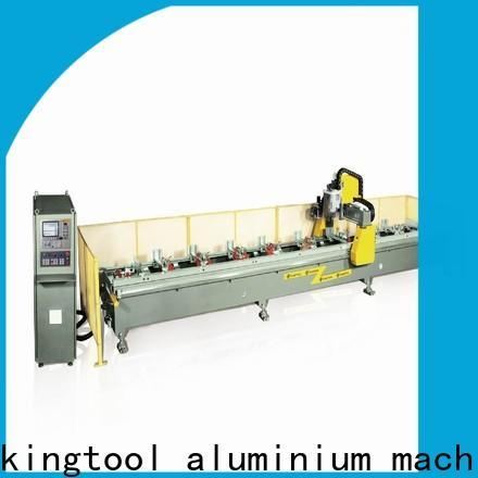 kingtool aluminium machinery industrial aluminium cnc router producer for grooving