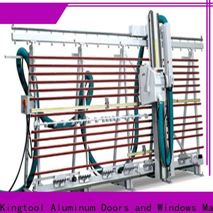 kingtool aluminium machinery saw acp cutting machine for curtain wall materials in workshop