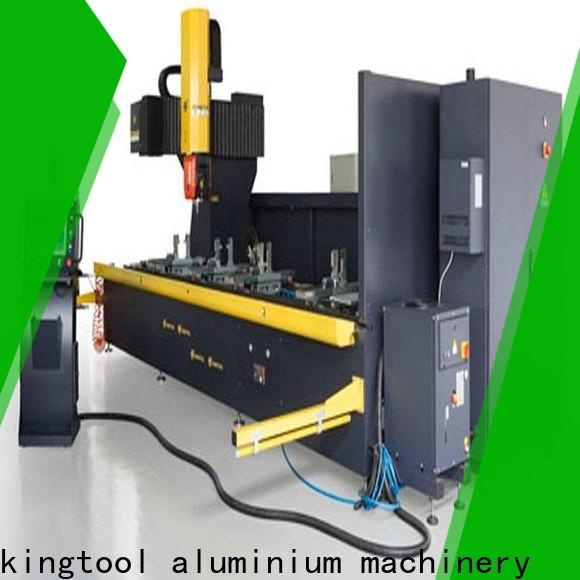 kingtool aluminium machinery machining Aluminium CNC Router in different color for PVC sheets