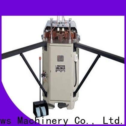 kingtool aluminium machinery duty corner crimping machine for aluminium profiles bulk production for milling