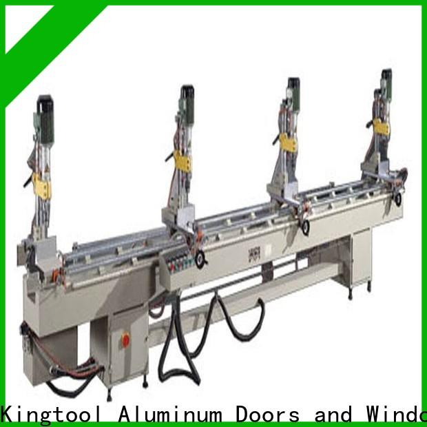 kingtool aluminium machinery material metal drill machine with good price for grooving