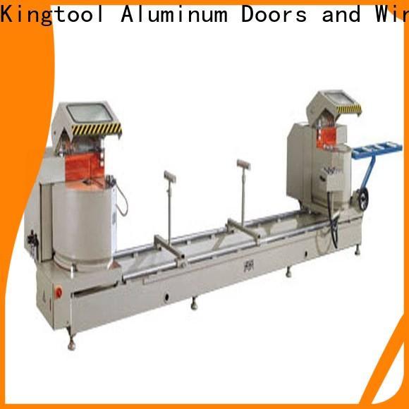 kingtool aluminium machinery eco-friendly aluminum cutting machine price for heat-insulating materials in workshop
