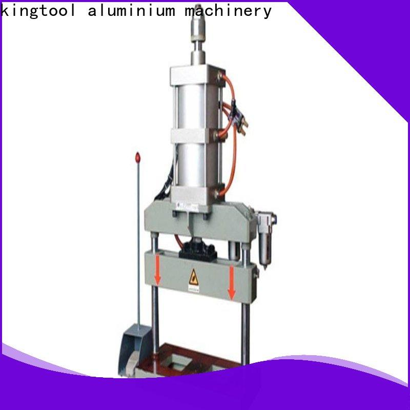 kingtool aluminium machinery best-selling cnc punching machine with cheap price for PVC sheets