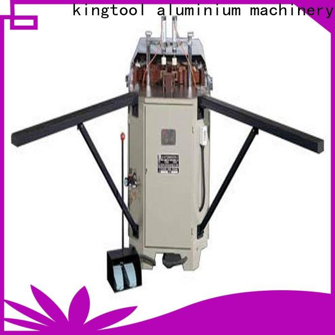 kingtool aluminium machinery quality aluminium window crimper with good price for milling