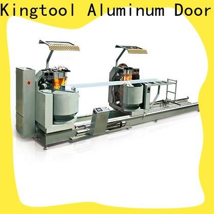durable aluminium extrusion cutting machine profile for heat-insulating materials in workshop