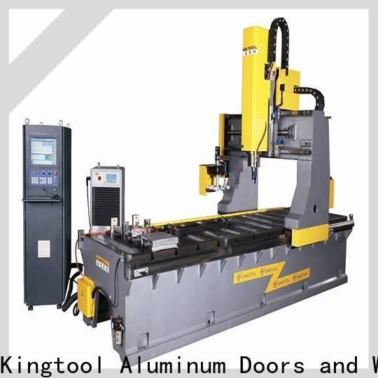 kingtool aluminium machinery durable aluminum welding machine order now for grooving