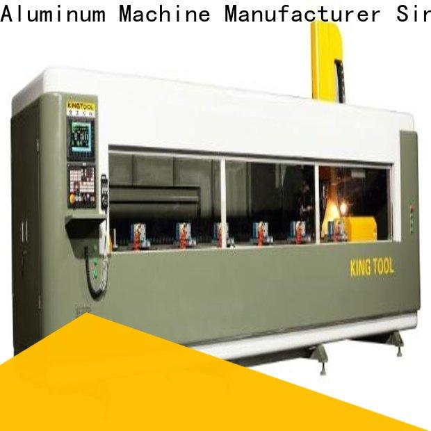 kingtool aluminium machinery machine best cnc router factory price for PVC sheets