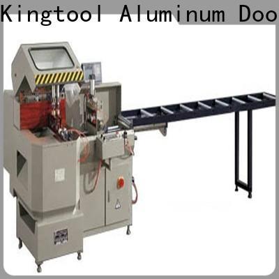 kingtool aluminium machinery machine cnc laser cutting machine for aluminum window in workshop
