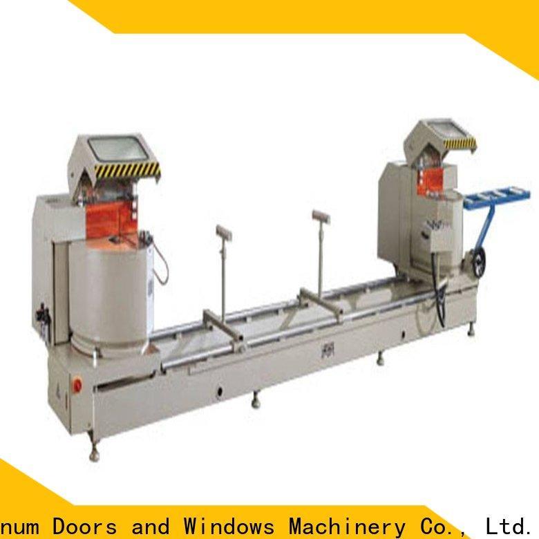 kingtool aluminium machinery easy-operating aluminium profile cutting machine for curtain wall materials in workshop