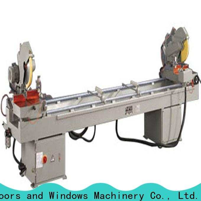 eco-friendly aluminium cutting machine heavy for plastic profile in workshop
