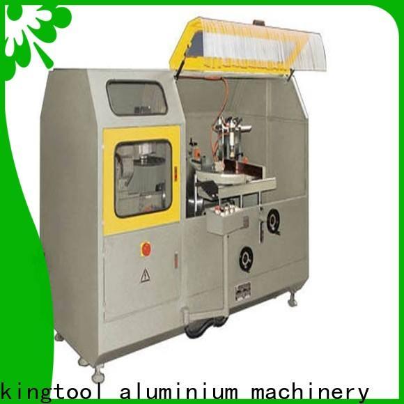 kingtool aluminium machinery aluminum fabrication machine for aluminum window in workshop