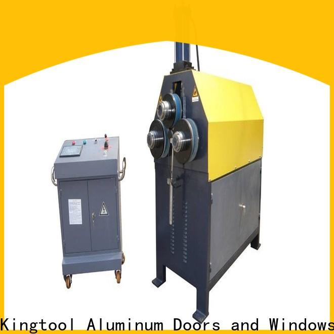 kingtool aluminium machinery automatic aluminium bender customization for engraving