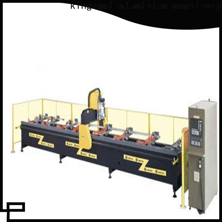 kingtool aluminium machinery easy-operating cnc router China factory for PVC sheets