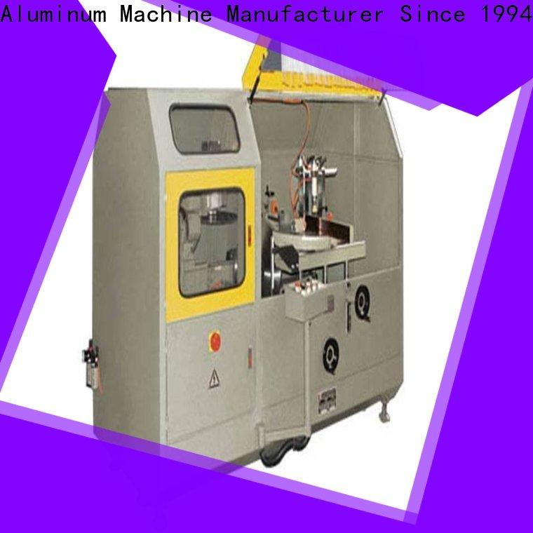 kingtool aluminium machinery first-rate aluminum fabrication machine in workshop