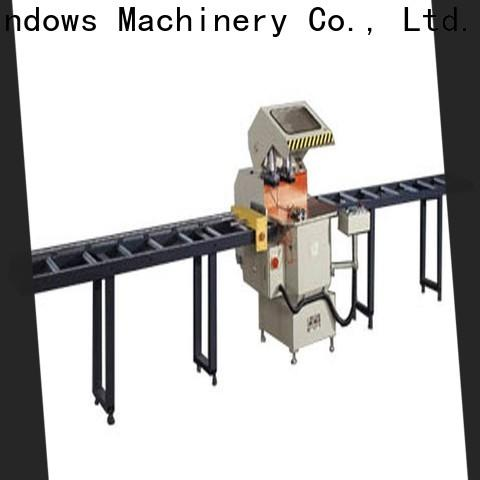 kingtool aluminium machinery best types of cnc machine for curtain wall materials in factory