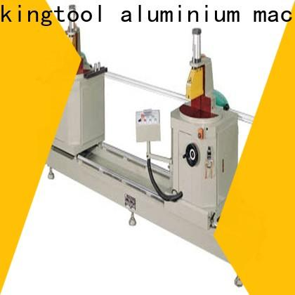kingtool aluminium machinery durable sanitary aluminum cutting machine with many colors for grooving