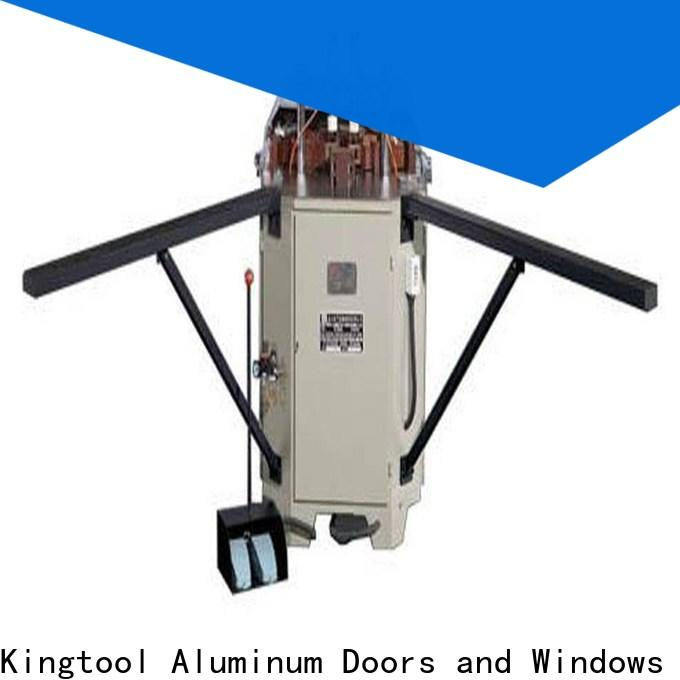 kingtool aluminium machinery corner aluminium corner crimper with good price for metal plate