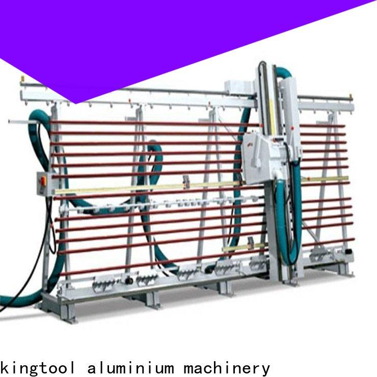 kingtool aluminium machinery vertical aluminum composite panel grooving machine for heat-insulating materials in factory