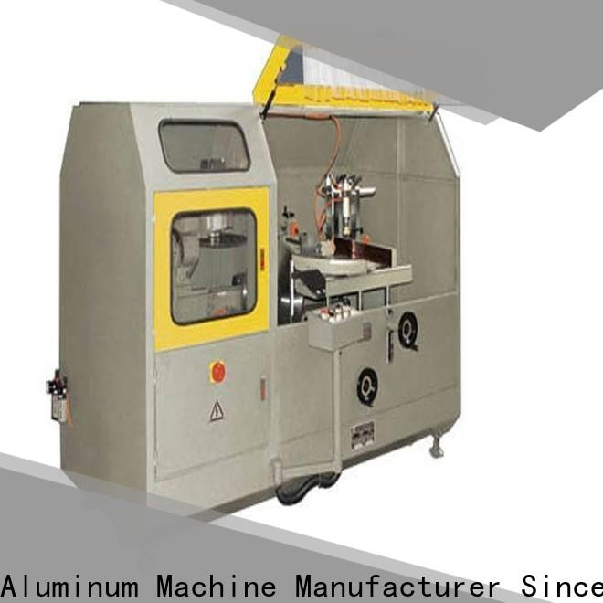 easy-operating aluminum fabrication machine wall for aluminum window in factory
