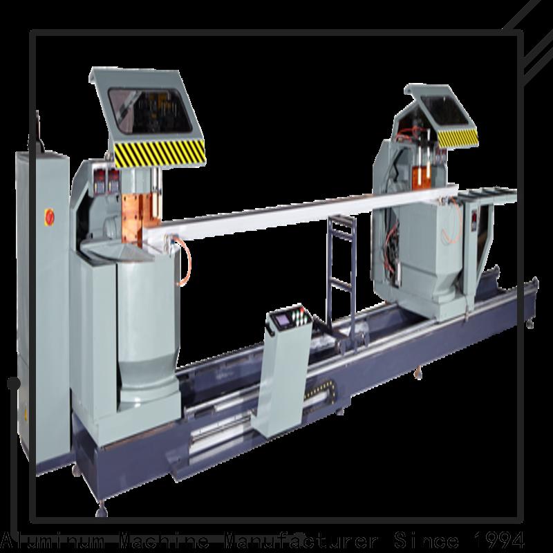 kingtool aluminium machinery adjustable curtain wall machine free design for steel plate