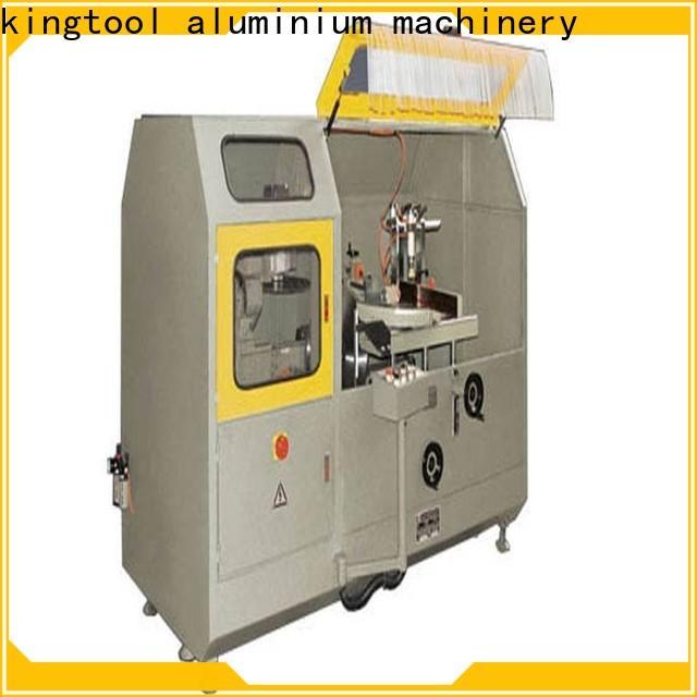 kingtool aluminium machinery single aluminum fabrication machine for curtain wall profile in factory