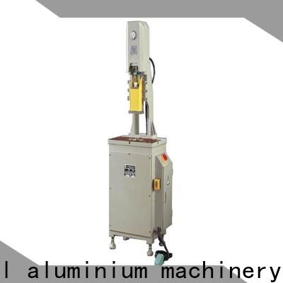 durable punching machine for aluminium profile fourcolumn bulk production for tapping