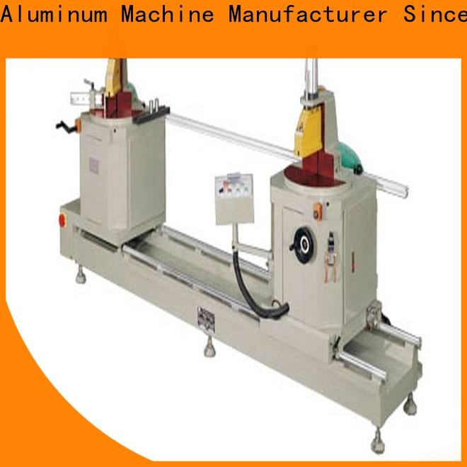 kingtool aluminium machinery edge sanitary aluminum cutting machine with many colors for PVC sheets