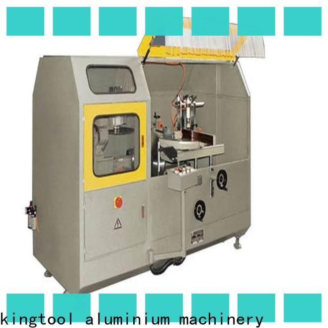 kingtool aluminium machinery notching aluminium fabrication machinery for aluminum window in factory