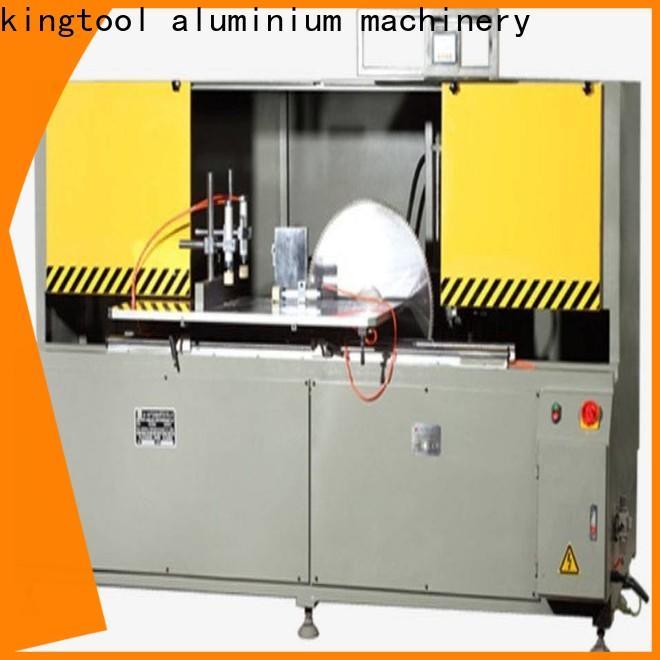 kingtool aluminium machinery notching aluminum fabrication machine for curtain wall profile in workshop