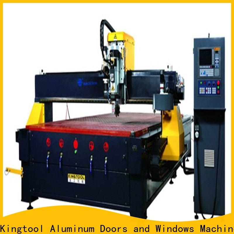 kingtool aluminium machinery adjustable aluminium router machine China factory for tapping