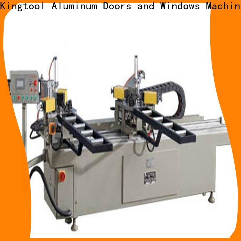 kingtool aluminium machinery hydraulic aluminium window crimping machine bulk production for metal plate