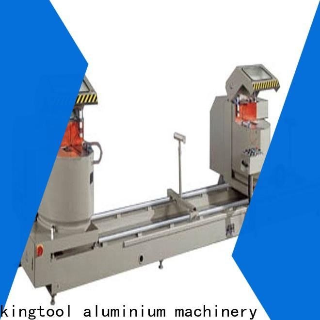 inexpensive aluminium section cutting machine full for curtain wall materials in workshop