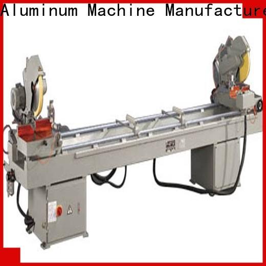 durable aluminium sheet cutting machine mitre for aluminum curtain wall in factory
