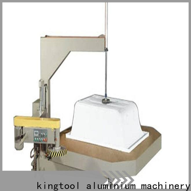 kingtool aluminium machinery digital sanitary aluminum cutting machine factory price for tapping