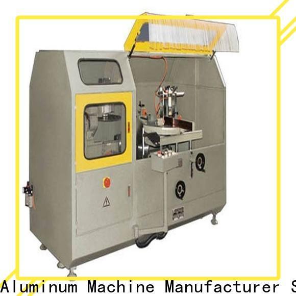 kingtool aluminium machinery adjustable aluminum curtain wall machine for aluminum profile in plant