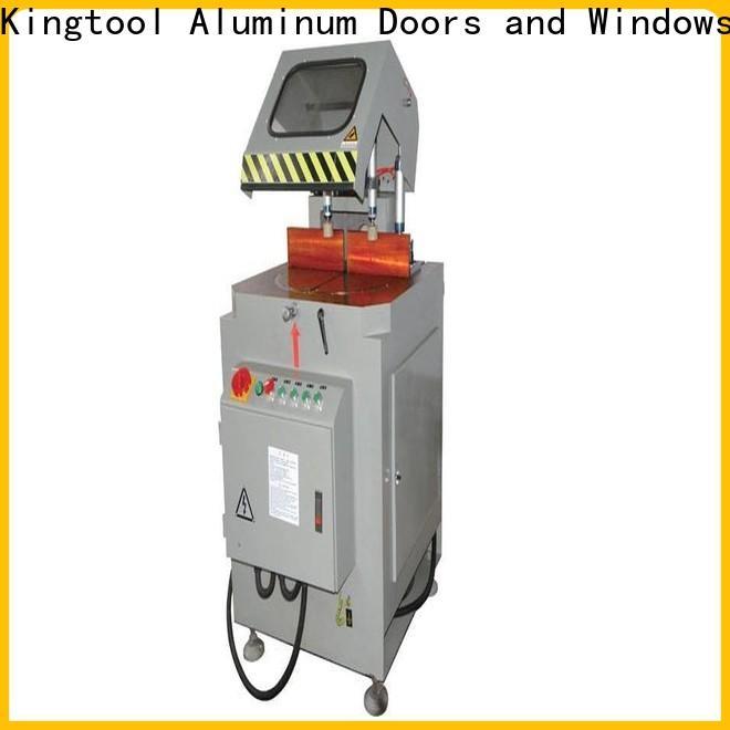 kingtool aluminium machinery best aluminium cutting machine price for aluminum window in workshop