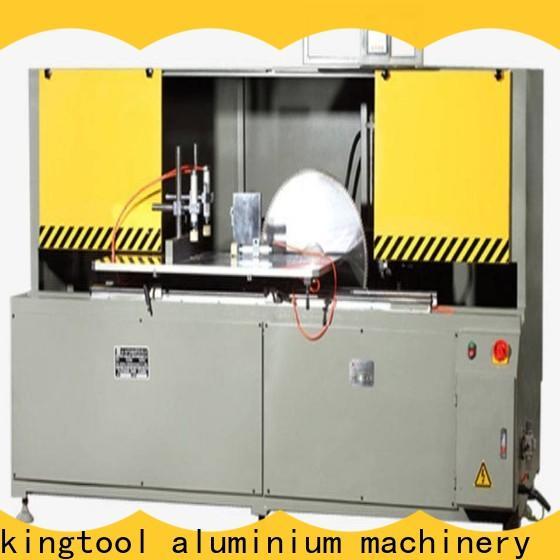 kingtool aluminium machinery best aluminium fabrication machinery for curtain wall profile in plant