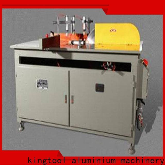 kingtool aluminium machinery manual aluminium cutting machine for heat-insulating materials in plant