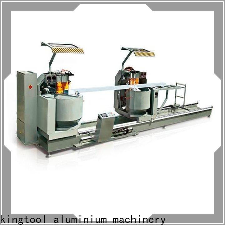 kingtool aluminium machinery window cnc laser cutting machine for aluminum door in plant