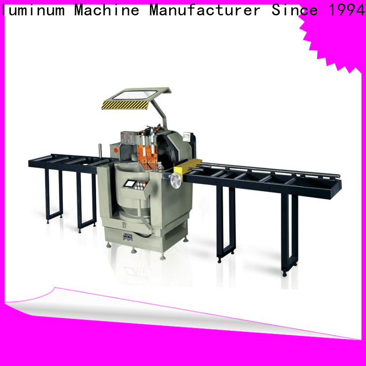 kingtool aluminium machinery automatic cnc machine price for curtain wall materials in workshop