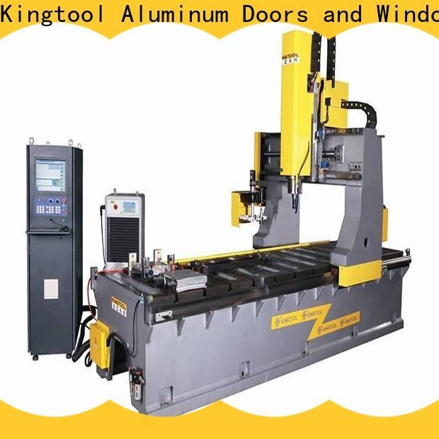 kingtool aluminium machinery adjustable aluminum welding equipment certification for tapping