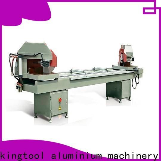 kingtool aluminium machinery full cnc machine price for aluminum curtain wall in plant
