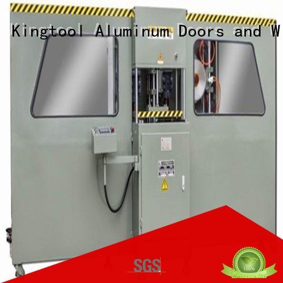 cnc heavyduty curtain wall machine bending kingtool aluminium machinery company