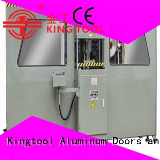 kingtool aluminium machinery Brand end 2axis machine curtain wall machine mitre