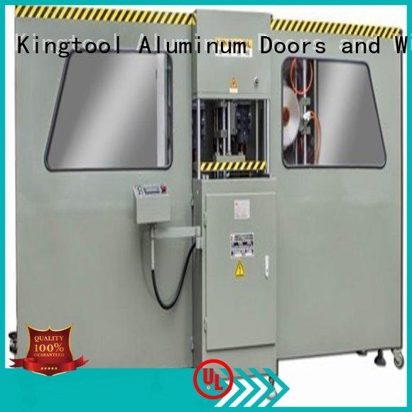 kingtool aluminium machinery hydraulic single head saw at discount for grooving