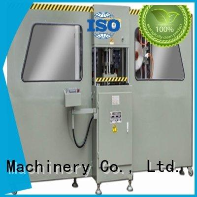 OEM aluminium press machine end track friction curtain wall machine