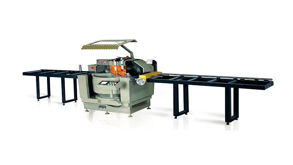 kingtool aluminium machinery KT-328F/DG CNC Single Head Saw in heavy-duty (2-Axis) New Products image5