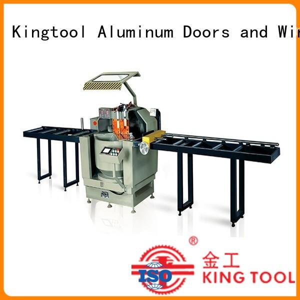 kingtool aluminium machinery durable hydraulic punching machine shredder for tapping