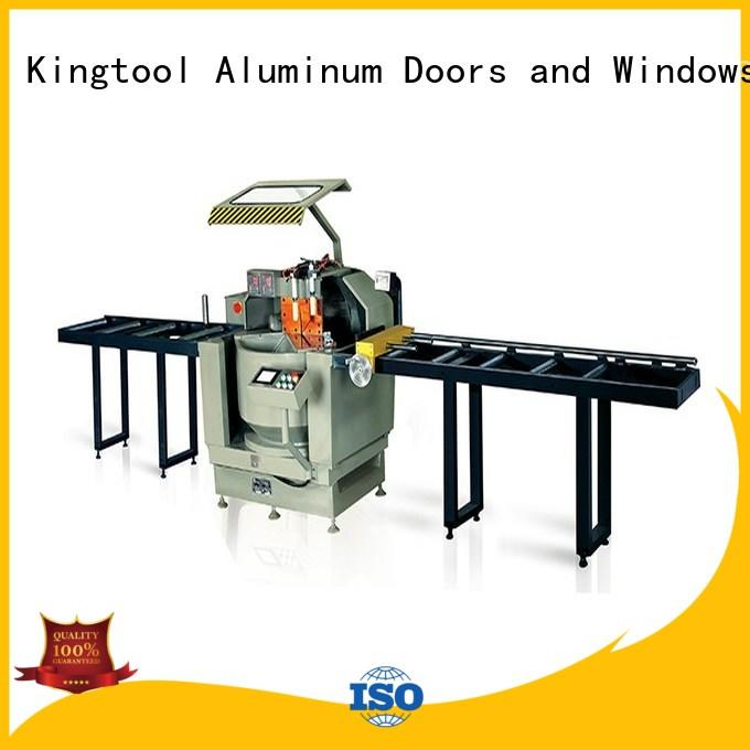 kingtool aluminium machinery wall digital display double head saw at discount for tapping