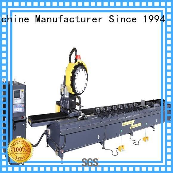 kingtool aluminium machinery wall digital display double head saw from manufacturer for grooving